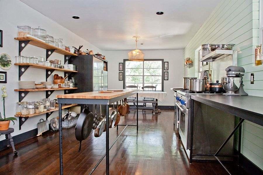 Dise o de cocinas shabby chic abra paso a la dulzura - Diseno cocina industrial ...