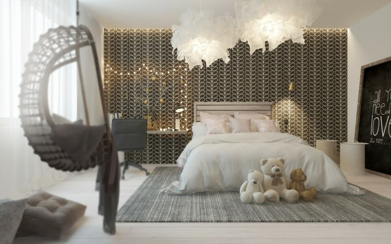 bonito dormitorio infantil moderno
