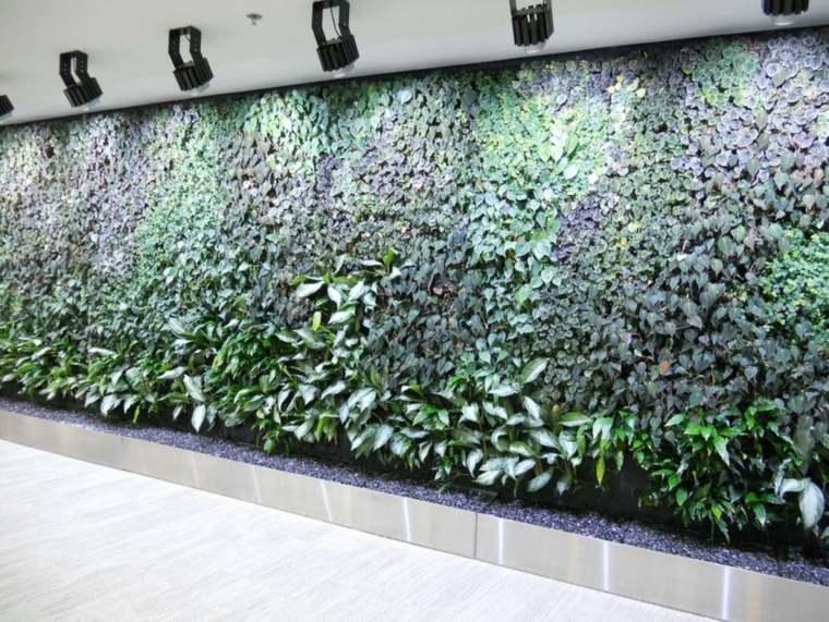 diseño pared jardín vertical