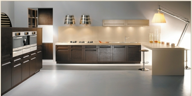 Lamparas de cocina modernas para una iluminaci n pr ctica - Luces led para cocinas ...