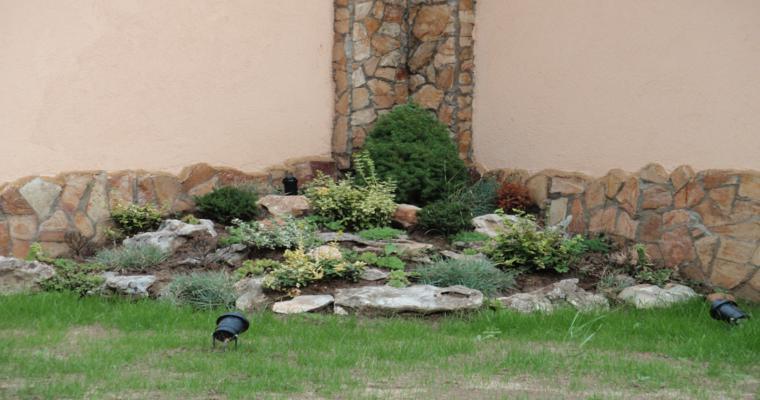 diseño alpineum deco jardín