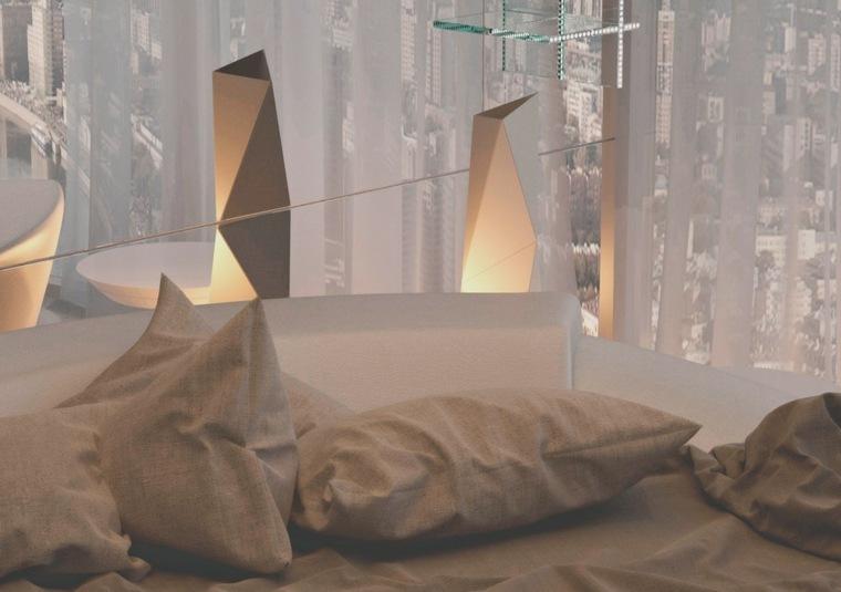 diseño cojines modernos habitaciones