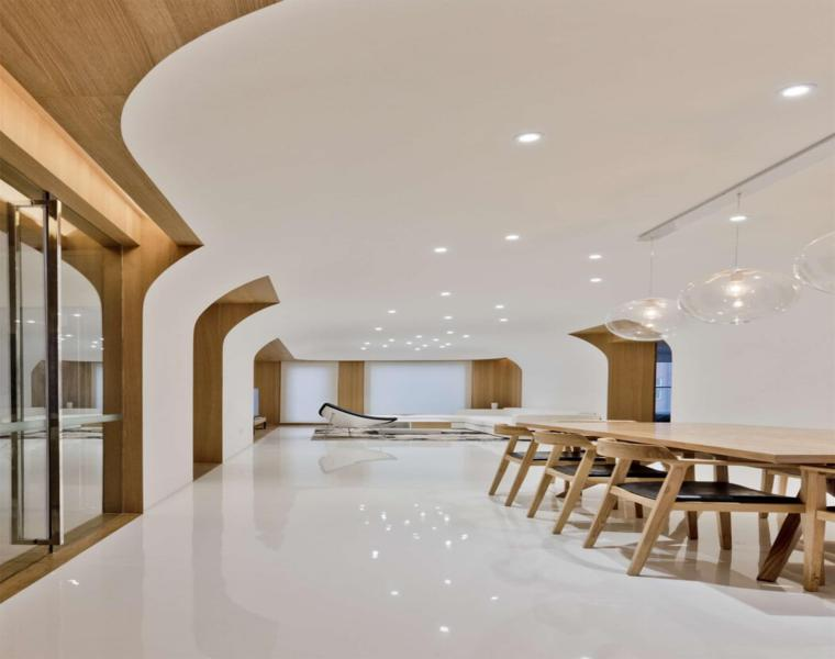 diseño comedor moderno sala de estar