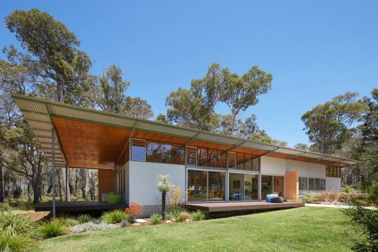 diseño de jardines Archterra Architects casa contemporanea Margaret River ideas