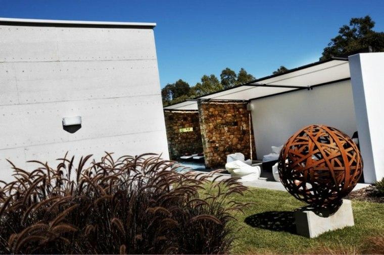 diseño de jardines Hofman and Brown Architects casa ideas