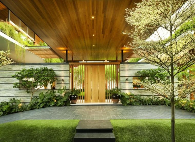 patio diseado por guz architects