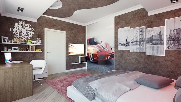 diseño habitacion de Maxim Nichikov oriiginal rojo