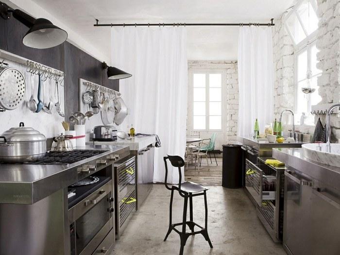 diseño industrial cocinas acero inoxidable muelas