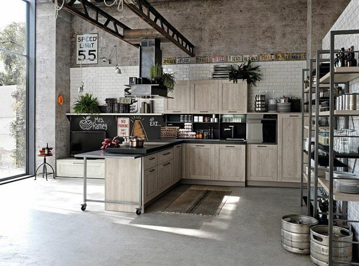 Dise o industrial en cocinas carm - Diseno cocina industrial ...