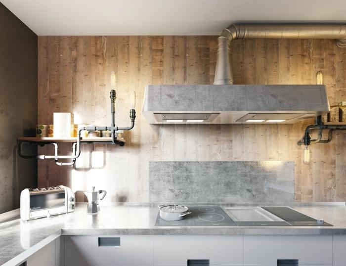 diseño industrial cocinas puertas conceptos lamparas