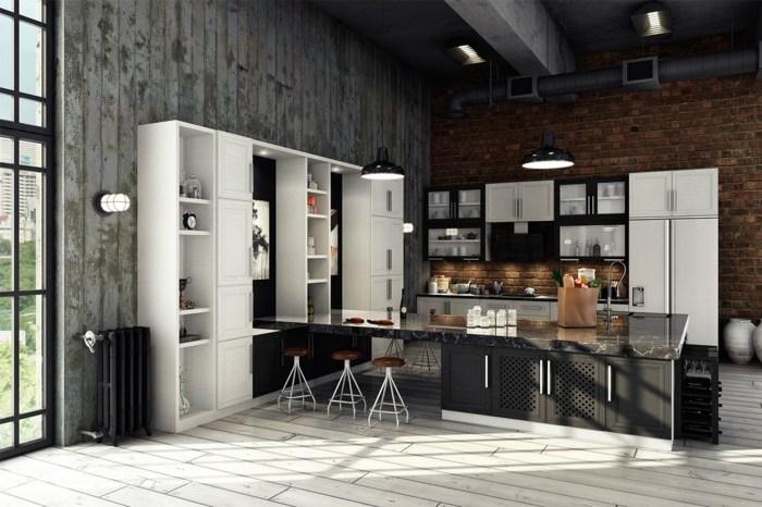 diseño industrial cocinas tuberias segmentos armarios