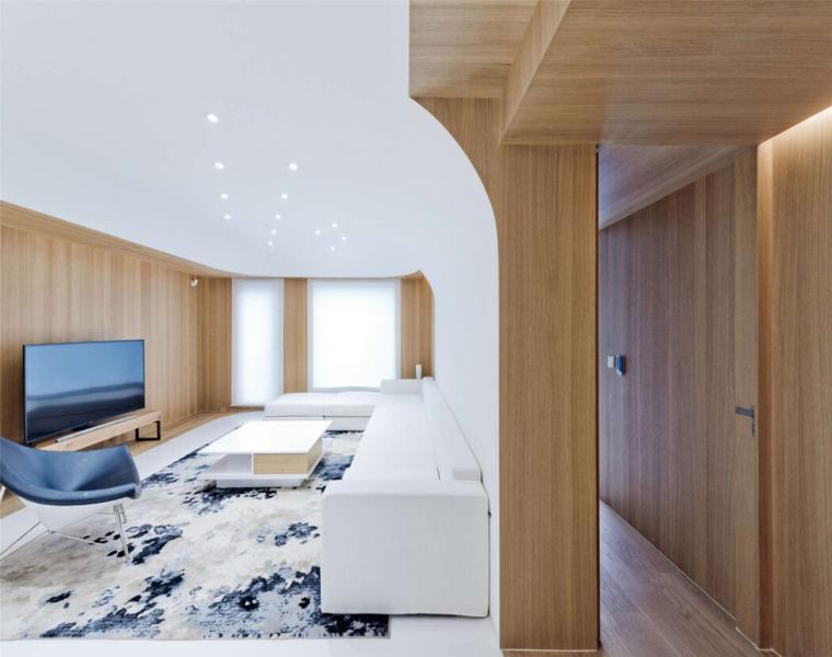 diseño interior sala de estar