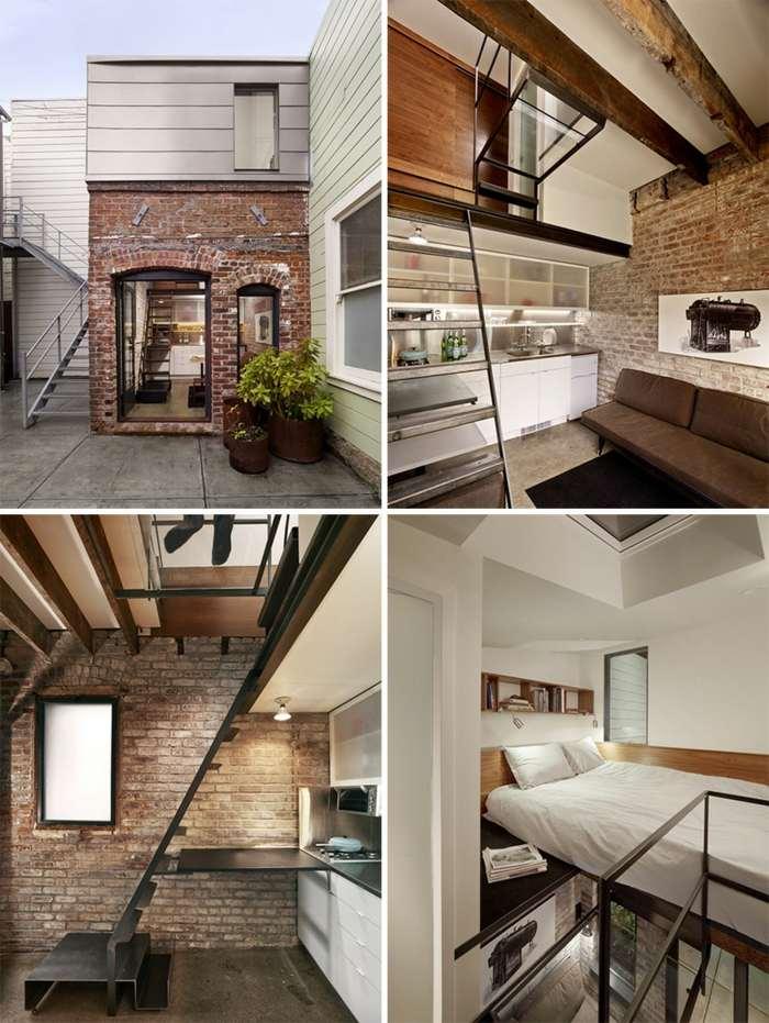 Loft de dise o moderno nueve modelos asombrosos for Casas loft diseno