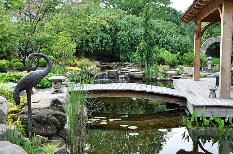 diseño jardin moderno estilo zen