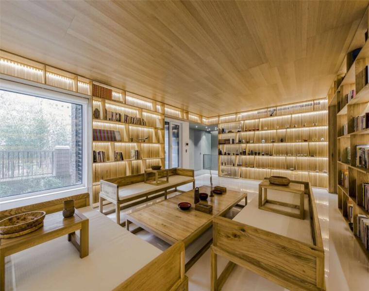 diseño salón lujoso interior villa