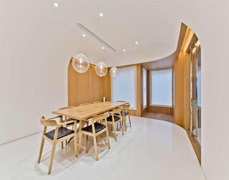 diseño estilo minimalista salon comedor