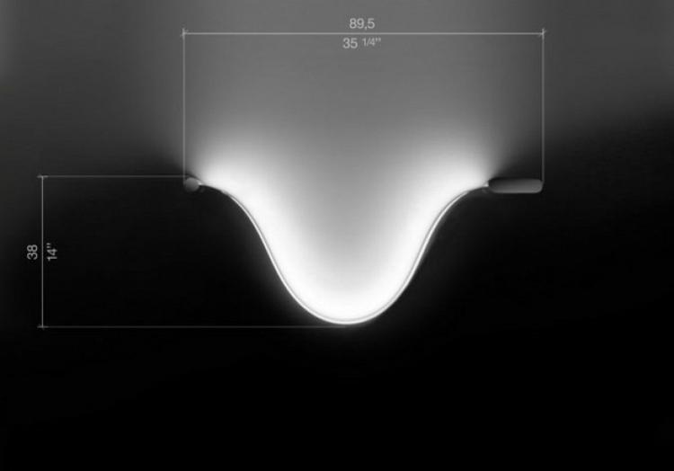 diseño moderno lámpara Led