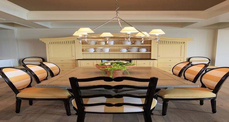 diseño mueble comedor color beige