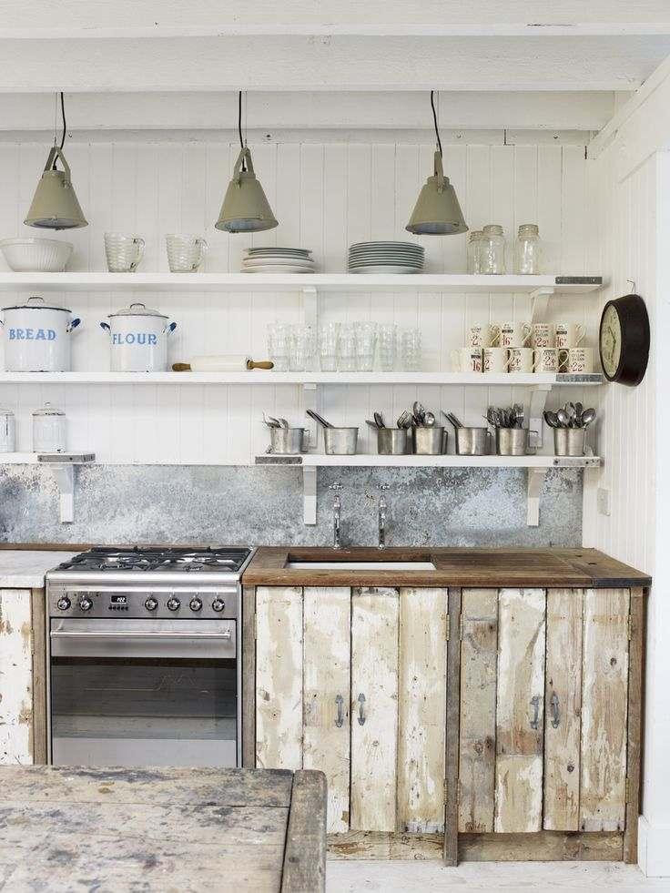 Diseño de cocinas shabby chic   abra paso a la dulzura