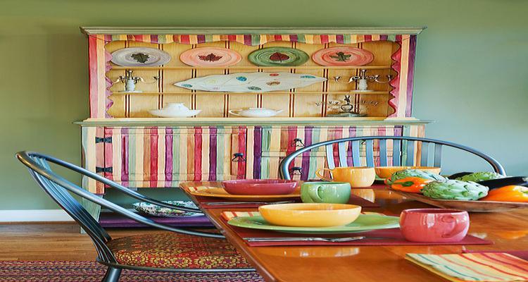 diseño mueble aparador colores