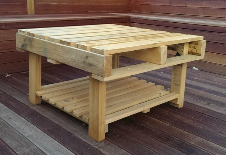 diseño original mesa palet madera