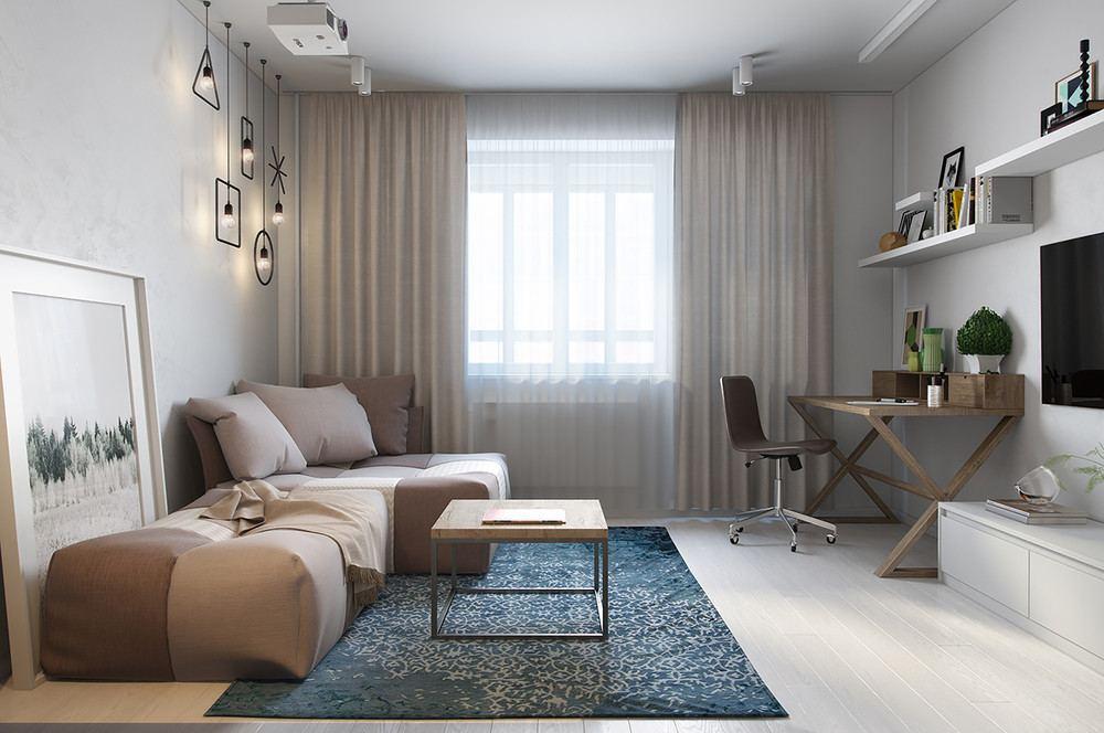 salón estilo moderno neutros
