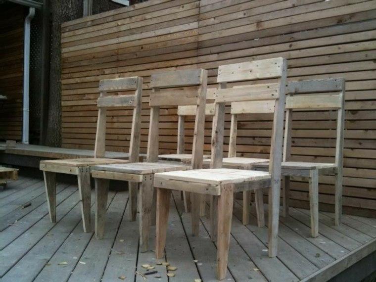 Decoracion Con Palets Ideas on Wood Pallet Outdoor Furniture