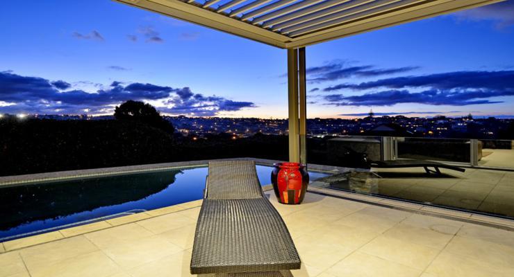 design nice terrace views
