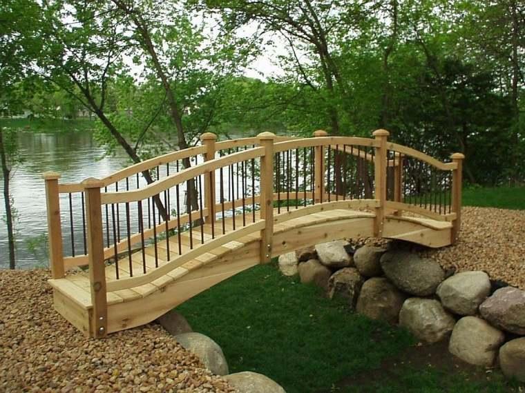 diseño decoración jardines puentes