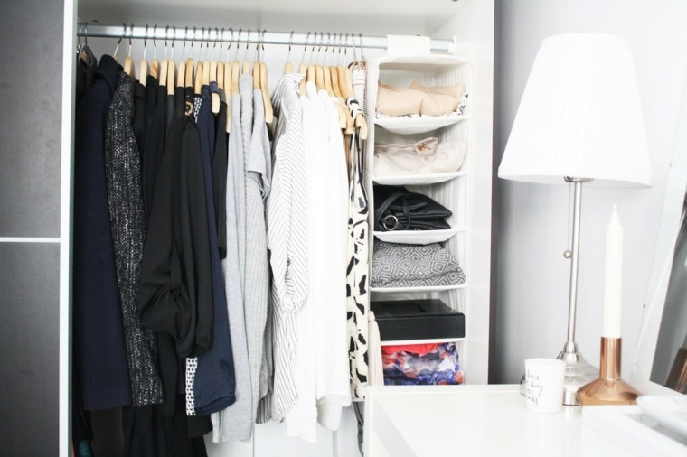 diseño interiores armarios modernos ropa