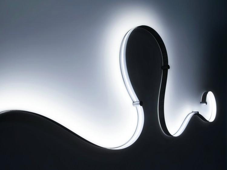 diseño lampara led moderna