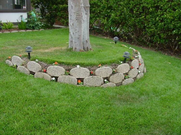 diseño estructuras cemento jardin