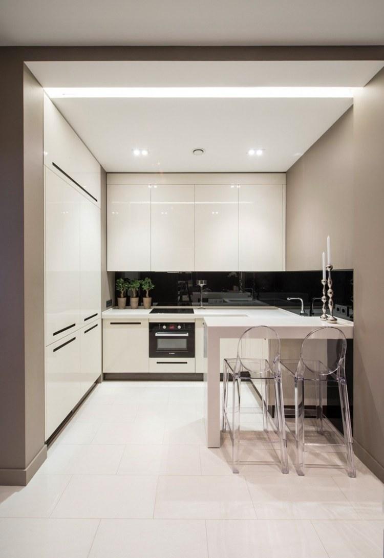 diseños cocinas modernas pequeñas
