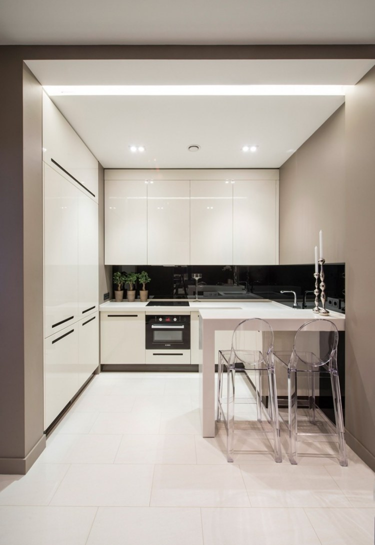 Cocinas peque as modernas los 25 dise os m s funcionales for Diseno de cocina