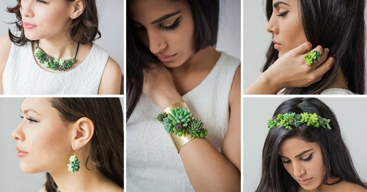 diseños estupendos joyas naturales