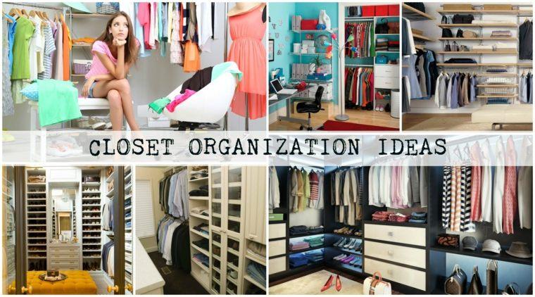 diseños ideas originales organizar armarios