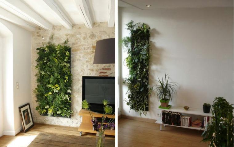 Jardines verticales ideas interesantes para el interior for Plantas jardin vertical interior