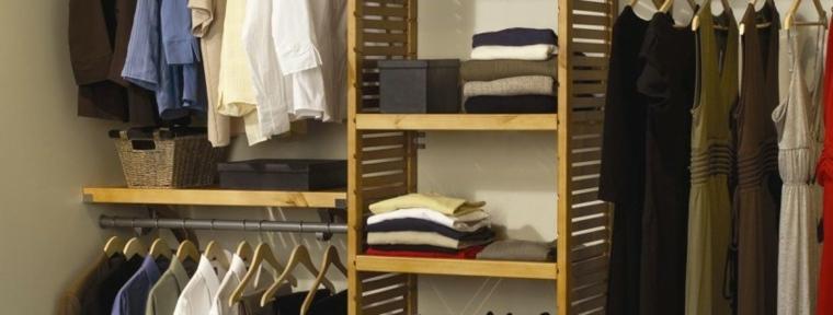 diseños originales organizar armarios roperos