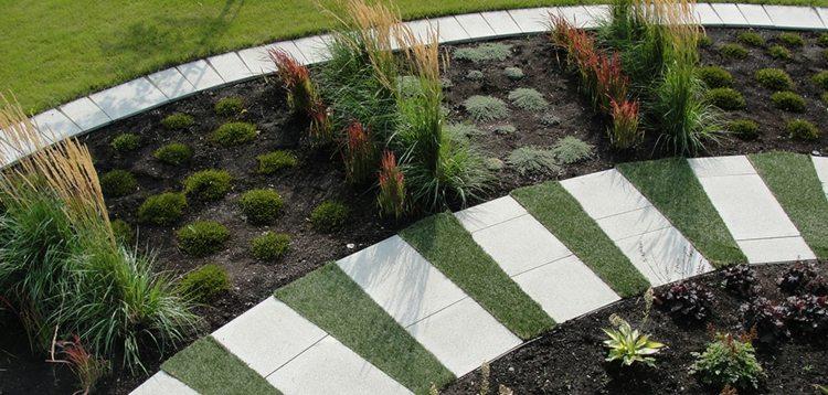 Imagenes de paisajes de jardines modernos - 25 diseños -