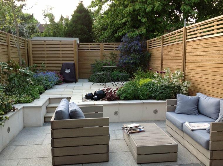 diseños terrazas modernas minimalistas
