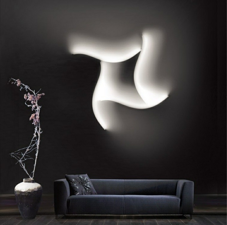 diseños lamparas led modernas