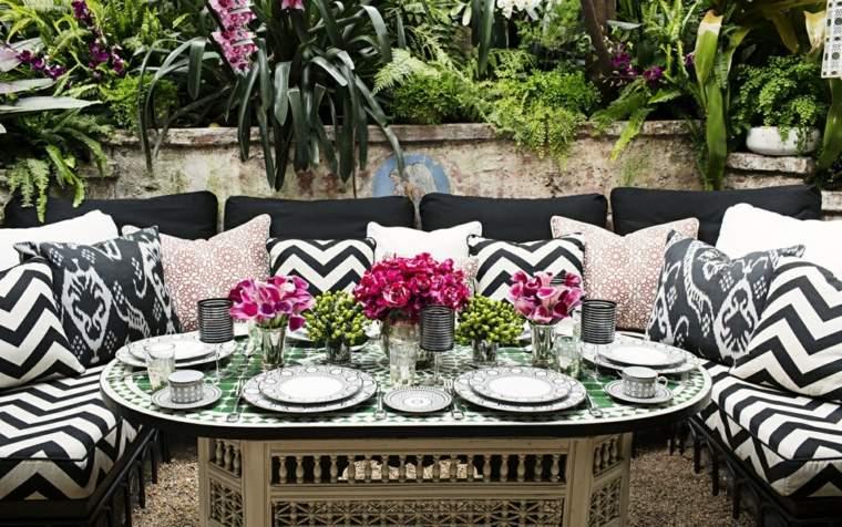 diseño de jardines opciones muebles originales jardin ideas