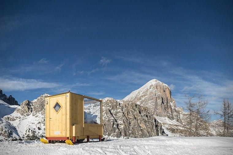 dormir bajo estrellas montana cabina Dolomite ideas