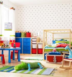 Creatividad para dormitorios infantiles funcionales y divertidos - Muebles para juguetes infantiles ...