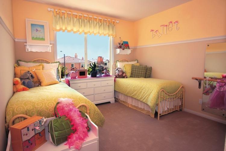 dos camas dormitorio infantil