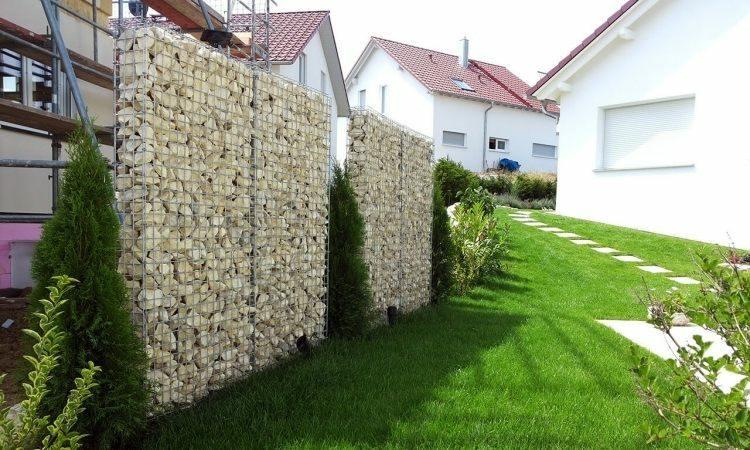 gaviones y muros de alambre y piedras 63 dise os. Black Bedroom Furniture Sets. Home Design Ideas