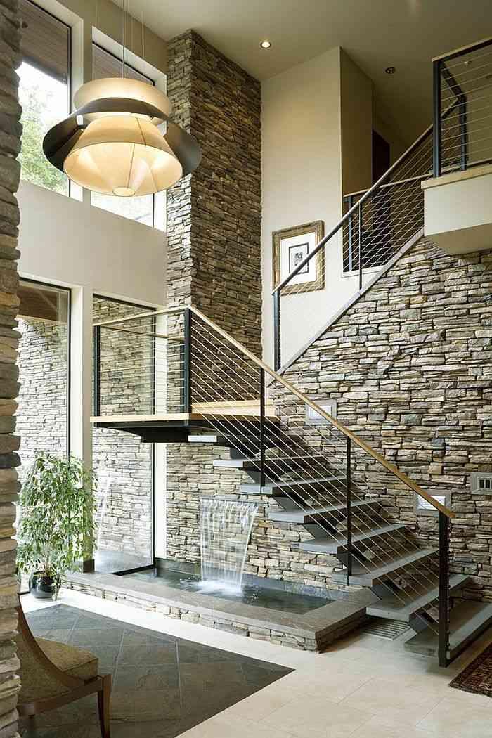 water rooms rocks walls trends warm