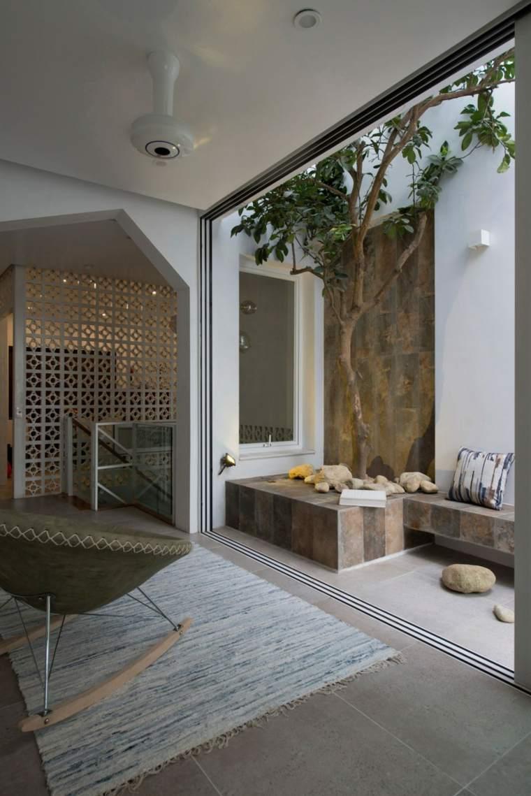 el apartamento balcon jardin pequeno ideas