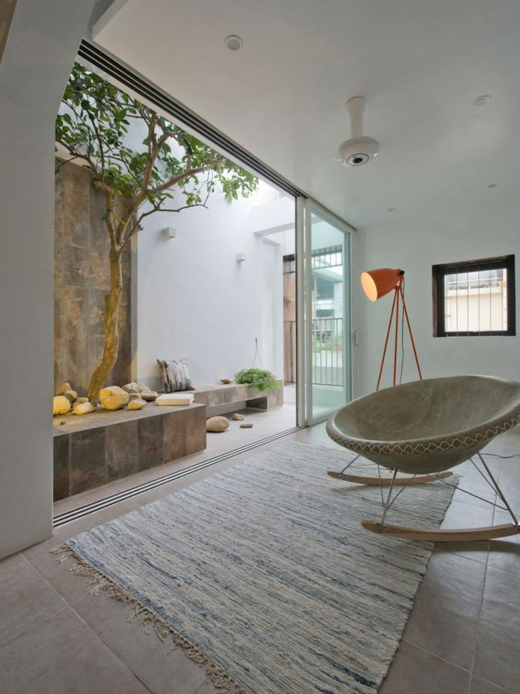 el apartamento balcon pequeno jardin ideas