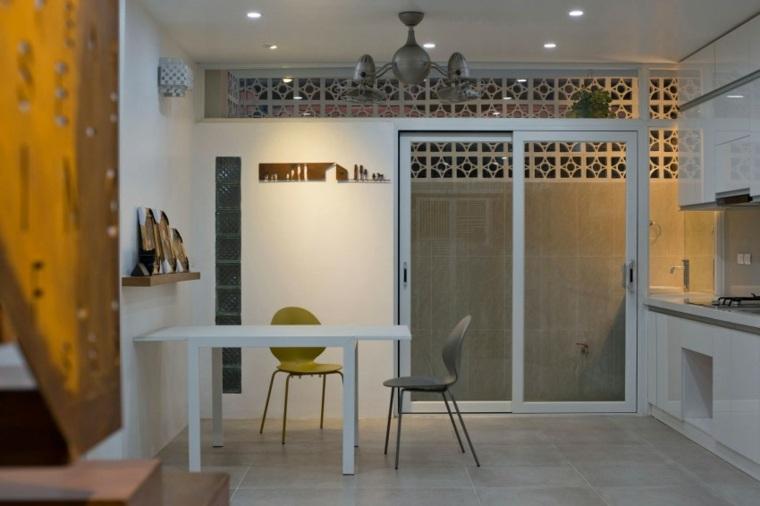 el apartamento cocina muebles blancos ideas